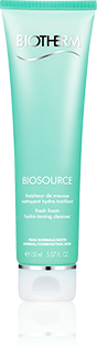 Biosource Foaming Cream Cleanser